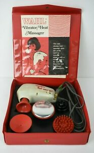 Vintage Wahl Vibrator Heat Massager Model VH