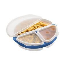 3Pc SET CONTENITORE MICROONDE durevole PP Storage compatta facile da pulire Cucina Nuovo