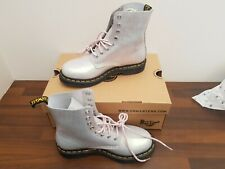 Dr Martens size 5 Pink Iridescent Croc 1460 Pascal Boots new in box