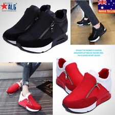Zip Fashion Sneakers Synthetic Shoes for Women