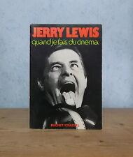 SPECTACLE ACTEUR METTEUR EN SCENE JERRY LEWIS QUAND JE FAIS DU CINEMA