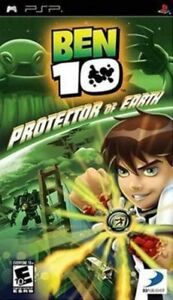 Ben 10: Protector of Earth (Sony PSP, 2007) *COMPLETE*