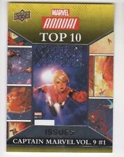 2016 Marvel Annual top 10 issues SP TIV-1 Captain Marvel vol. 9 #1
