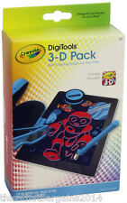More details for crayola digitools 3d pack for apple ipad 3d app included virtual digital art