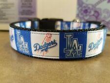 LA Dodgers Dog Collars (2 different styles)