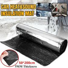 Sound Deadener Mat Heat Shield Insulation Car Engine Hood Self-Adhesive Sticker