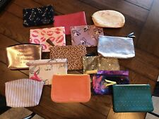 Ipsy Lot of Makeup Bags *never used*