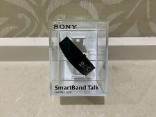 NEW Sony SmartBand Talk SWR30 Android Bluetooth SmartWatch