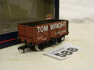 Bachmann OO 7 Plank Open End Door Wagon Tom Wright 19 Box 37-075V Ltd Edition A