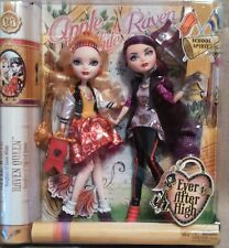 Ever After High-school espíritu-Apple Blanco Y Muñecas Raven Queen
