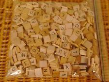 687 Scrabble Tiles ~ Vintage & New Woods ~ Crafting Jewelry Scrapbooking +++
