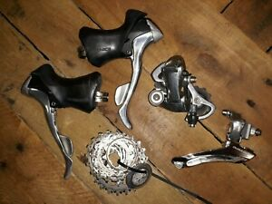 Shimano Dura Ace RD 7700 FD 7800  7700Shifters, 9sp Cassette