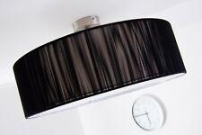 Plafonnier Noir/Blanc Lustre Lampe à suspension Lampe de séjour Luminaire 117883