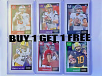 2020 Panini Score Football Cards Rookies, Inserts, Parallels  You Pick! BOGO!