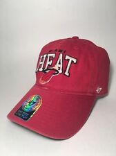 "Miami Heat 47 Brand ""The Franchise"" NBA Hardwood Classics Men's Fitted Cap Hat"