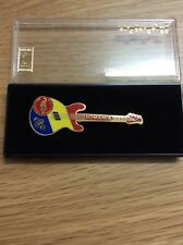 Atlanta Olympic Games Limited Edition Guitar Pin: Romania Pin