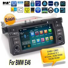 Android 8.1 BMW E46 Autoradio M3 MG ZT Rover 75 3er DVD TNT DAB+GPS TPMS 3862F