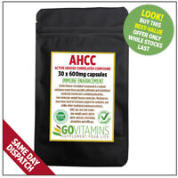 BEST SELLING AHCC 600mg CAPSULES OR  POWDER ACTIVE HEXOSE CORRELATED COMPOUND