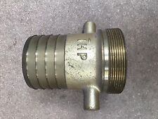 """3"""" BSP Brass Lugged Male Coupling - 3"""" Hose Tail"""
