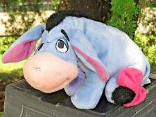 """Disney Winnie The Pooh And Friends Eeyore 9"""" Doll Plush Stuffed Toy Fisher Price"""