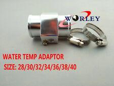 32MM Racing Water Coolant Temperature Sensor Water Temp Gauge Adapter Clamps Sil