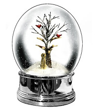 Heaven Sends Golden Labrador Christmas Snow Globe - Christmas Decorations