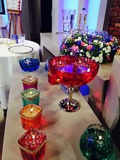 UNIQUE FLOATING WATER CANDLES SAFE DIWAILI WEDDING EVENTS TABLE DECORATIONS RED