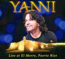 Yanni- Live From El Morro, Puerto Rico  CD/DVD Jewelcase  2012 by Ya . EXLIBRARY