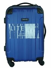 NWOT Kenneth Cole Reaction Lite Weight Luggage Blue Out Of Bounds Collection