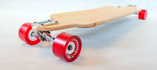 DROP THROUGH DOWN LONGBOARD SKATEBOARD COMPLETE Cruiser THRU DOWNHILL W Concave