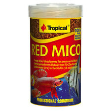 TROPICAL RED MICO 100ml/8g  Freeze-dried larvae of chironomid midges