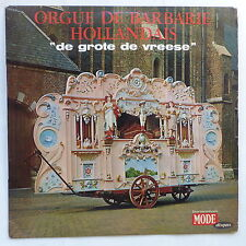 Orgue de barbarie hollandais De grote de vreese MDINT 9303