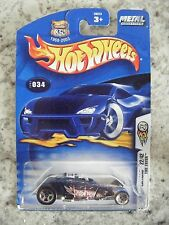 HOT WHEELS BLUE CARD CARD#034 2003 1ST EDITIONS 22/42 TIRE FRYER