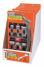 Allway Tools Soft Grip Contour Scraper Set with 6 Blades , New, Free Shipping
