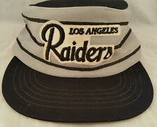 VINTAGE LOS ANGELES RAIDERS KIDS HAT LA STRIPES NFL SPORTS SPECIALTIES CORP