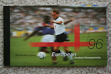 """""""1996 EUROPEAN FOOTBALL CHAMPIONSHIP"""" ROYAL MAIL BOOK OF STAMPS"""" PERFECT COND."""