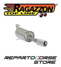 RAGAZZON SCARICO TERMINALI ROTONDI RENAULT CLIO IV 0.9TCE 66kW 90CV DAL 2012->