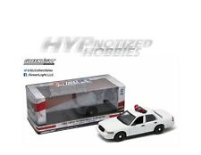 GREENLIGHT 1:18 FORD CROWN VICTORIA POLICE INTERCEPTOR DIE-CAST WHITE 12921