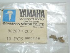 Yamaha Outboard Special Shape Rivet lot of 9 Part# 90269-02001