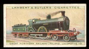 Lambert Butler, WORLDS LOCOMOTIVES (50), 1912, Great Northern Ireland, #32