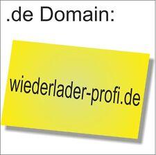 Business-Domain:wiederlader-profi.de