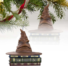 More details for harry potter sorting hat christmas ornament - 1/2pcs talking harry potter sortin