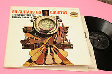 TOMMY GARRETT LP 50 GUITARS GO COUNTRY ORIG ITALY 1963 EX GIMMICK COVER !!!!!!!!