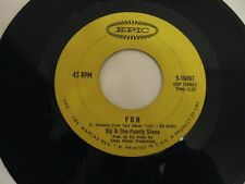 Sly and the Family Stone hot fun in the summertime/ fun 45 Record Vinyl Album 7""