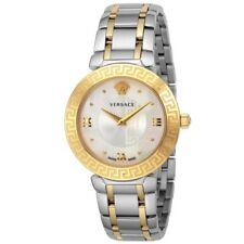 Versace Women DAPHNIS Swiss Quartz Stainless Steel Watch,Two Tone V16060017
