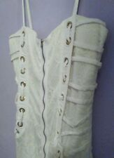 💖 ON SALE! NEW ICE FASHION DRESS WHITE LACE Ladies Size Medium/12 SHORT & SEXY