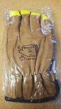 Superior Endura  Work Gloves w/Hi-Viz Fingertips Size XL  #378KG54