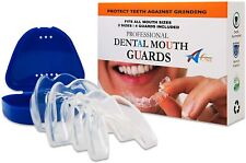Professional Dental Mouth Guards - 4 Customisable Night Guards in 2 Sizes