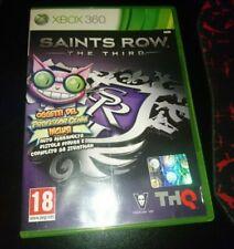 Saints Row Third italiano Completo Pari Nuovo Disco Vergine XBOX360 PAL LEGGERE!