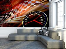 Racing Background  Photo Wallpaper Wall Mural DECOR Paper Poster Free Paste